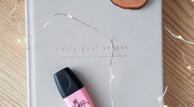 Mål Paper – Daily Goal Setter