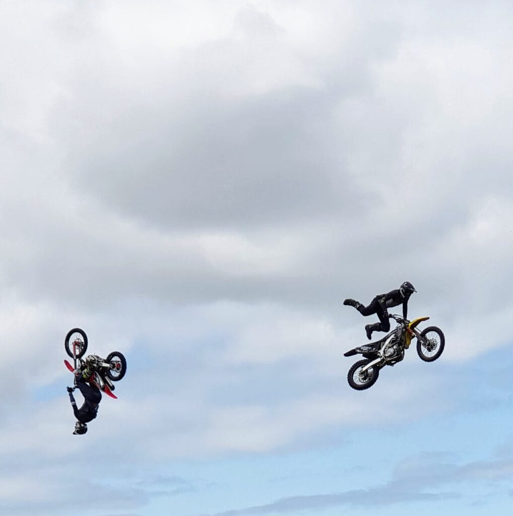 Broke FMX Stunt riders