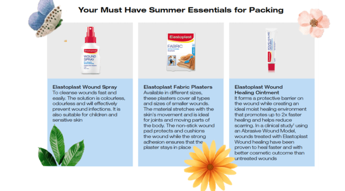 Summer Healing with Elastoplast