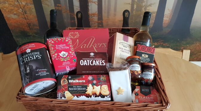 The Perfect Christmas TReat from Prestige Hampers