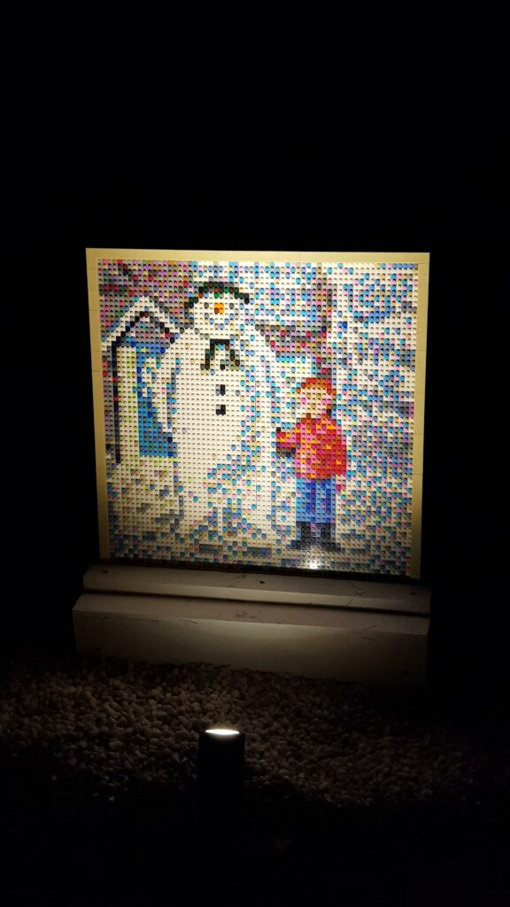 The Snowman and The Snowdog Bricklive