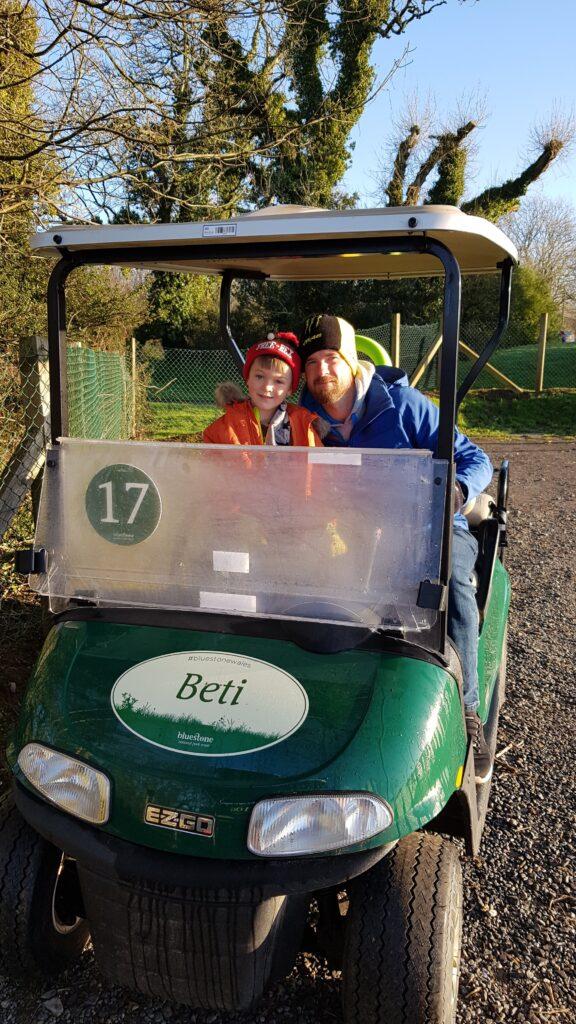 Beti the golf buggy