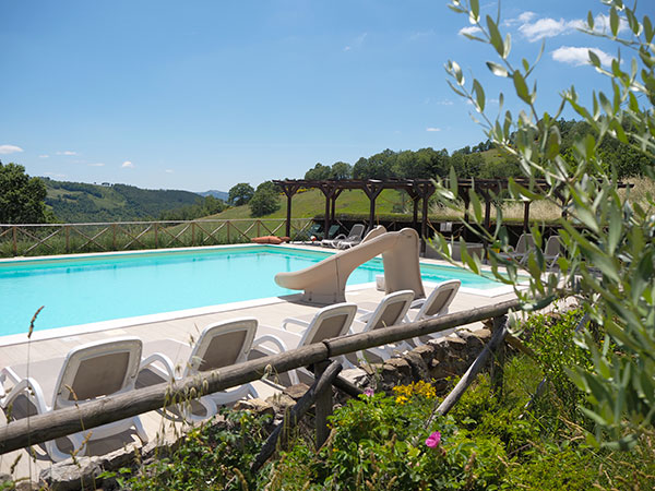 OUR POOL AT PIAN DI CASCINA FAMILY HOLIDAYS