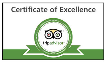 TRIP ADVISOR EXCELLENCE CERTIFICATE