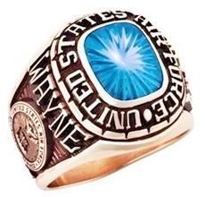 custom air force rings