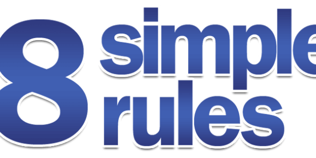 8 simple rules to weight loss