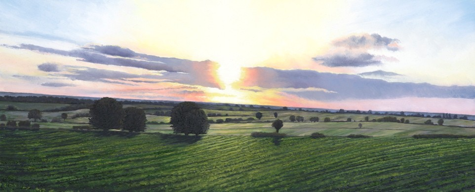 'Morning Light, East Yorkshire'