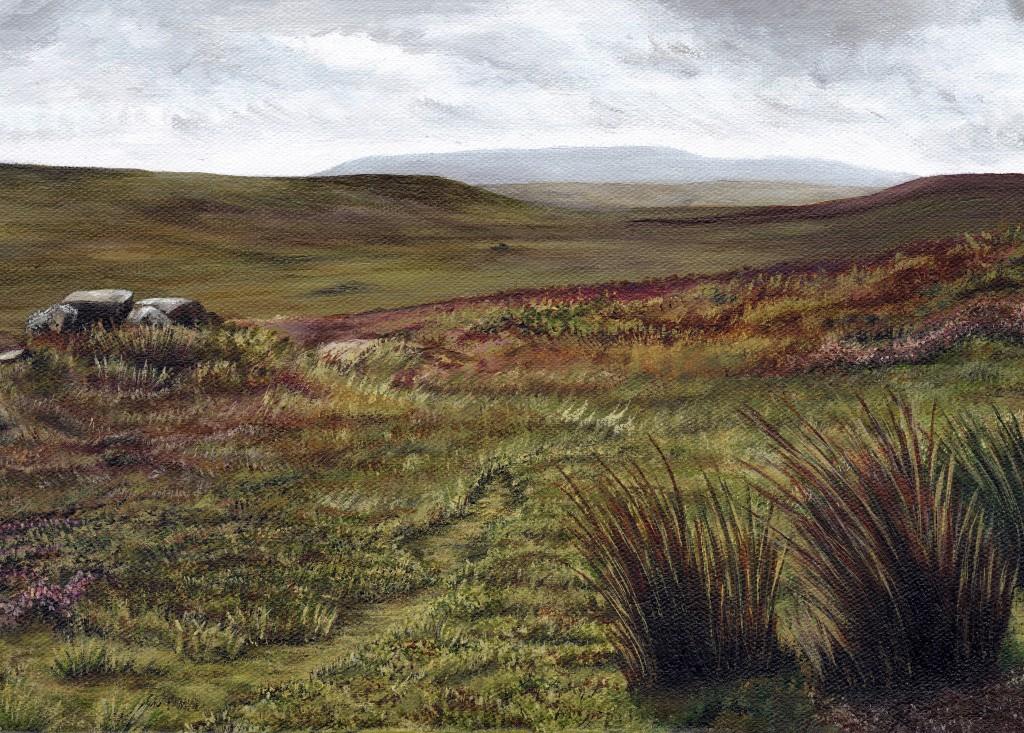 'Hirst Ridge, Swaledale' (Card)