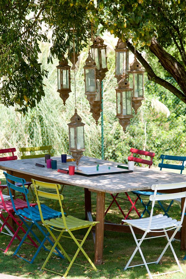Relaxing Outdoor Living Spaces