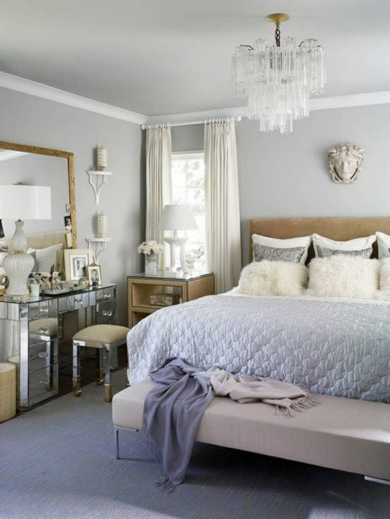 Most Romantic Bedroom Decor: 25 Sophisticated Paint Colors Ideas For Bed Room