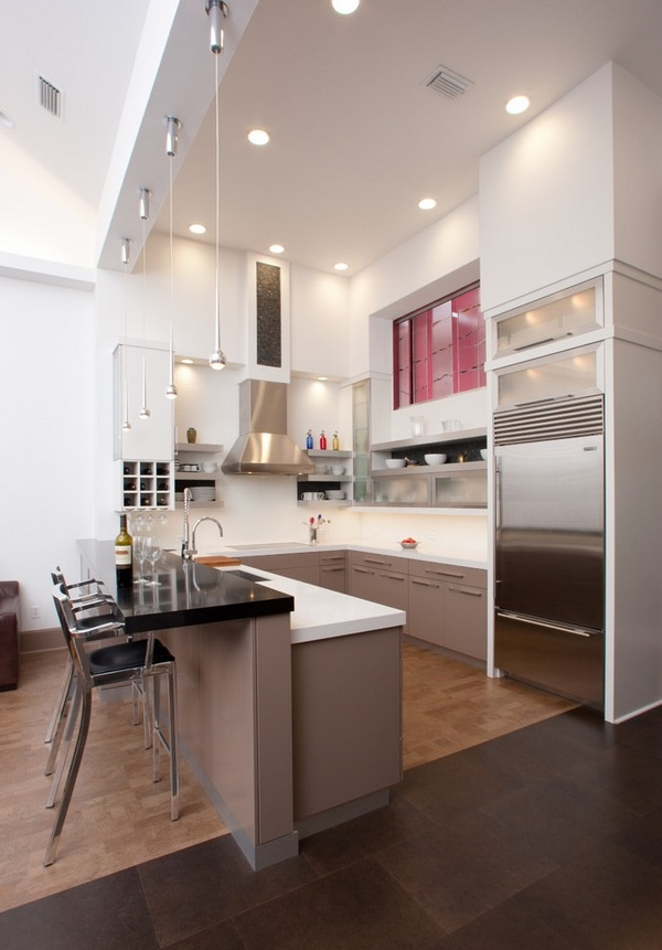 contemporary kitchen ideas U shaped