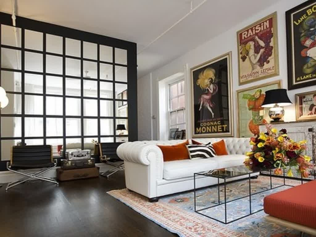 Eclectic Living Room Furniture