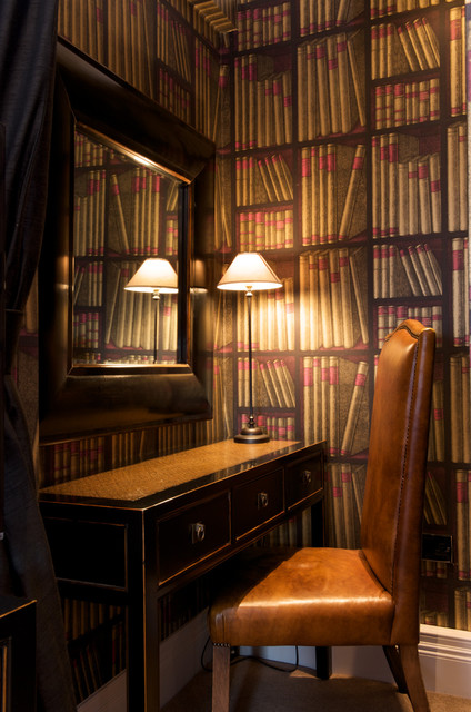 Small Bedroom Study eclectic-home-office