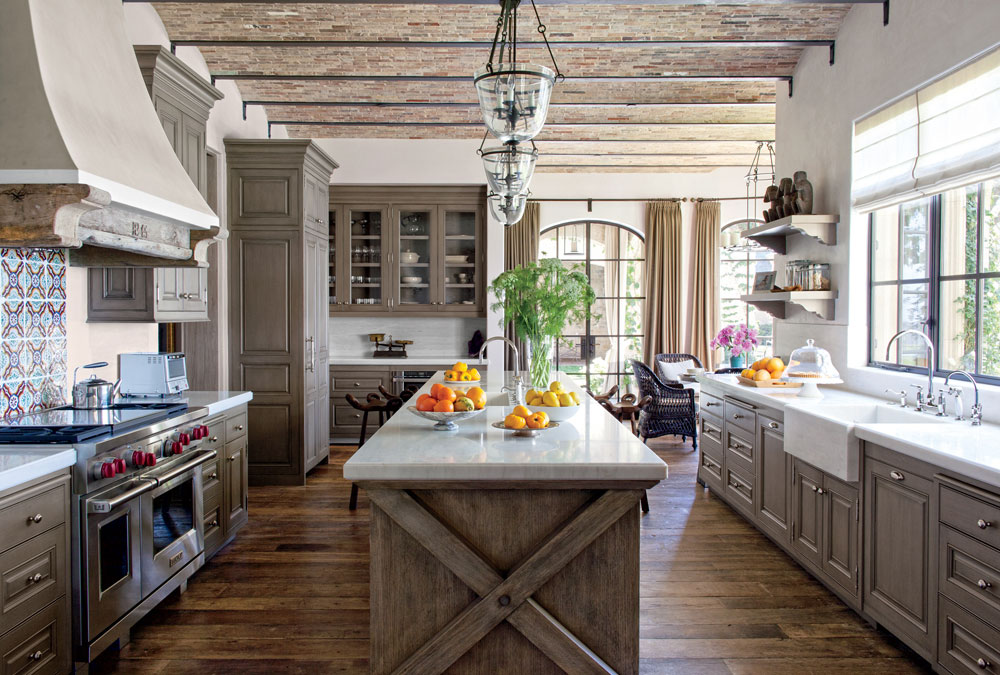 Warm, Cozy And Inviting Rustic Kitchen