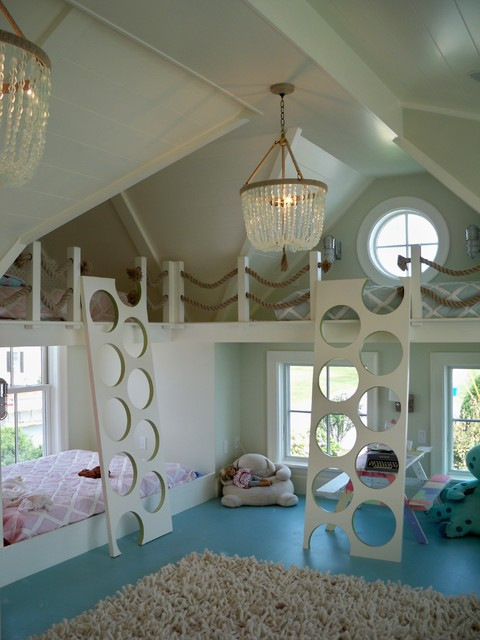 Adorable Kids Bedroom Designed in Beach Style