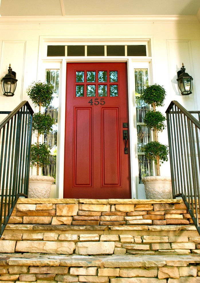Pretty Entry Traditional design ideas for Front Doors With Side Panels Decor Ideas