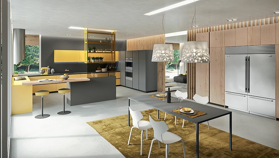 Sophisticated Contemporary Kitchens With Cutting-Edge Design ...