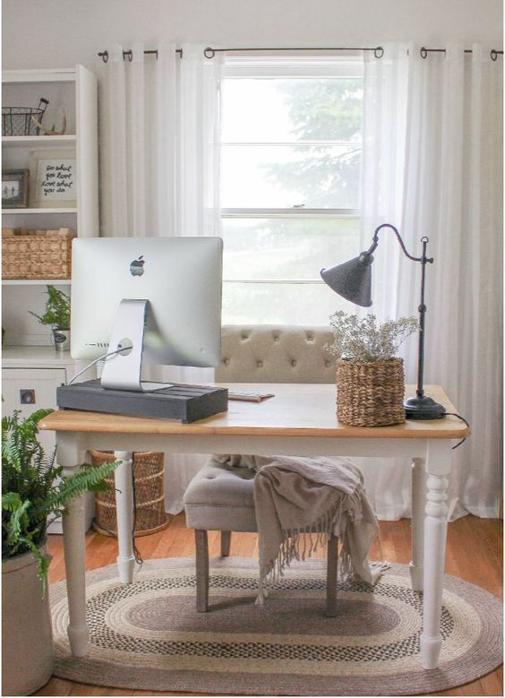 transformation of this gorgeous home office