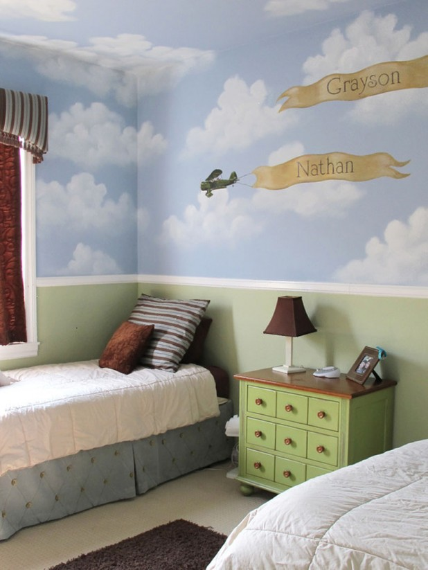 Splendid Original Decorating Ideas For Kids