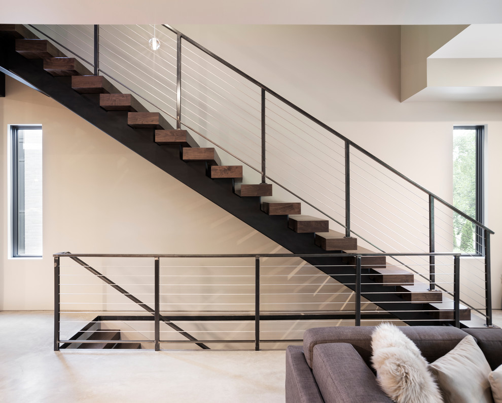 Fabulous Staircase With Wooden Steps