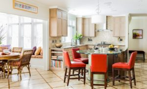 Contemporary Traditional Kitchen Design Inspiration