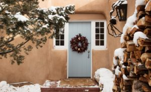 22 Christmas Wreath Ideas For Your Front Door