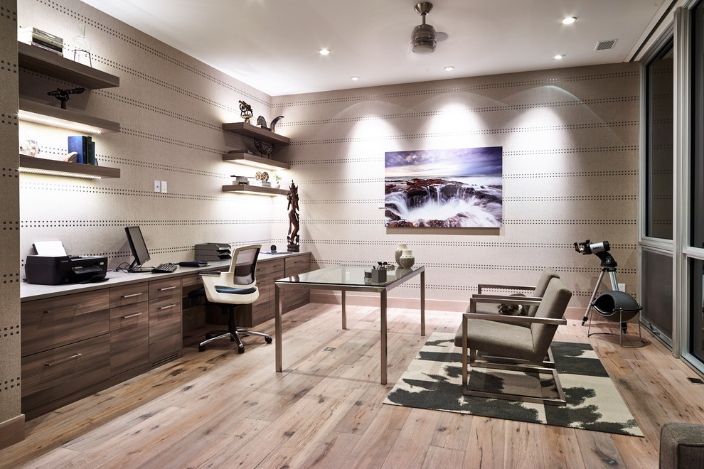 Large Contemporary Home Office