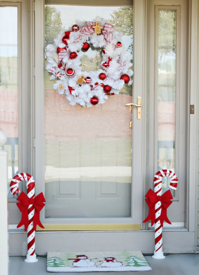 Christmas Right With Red And White dwellingdecor