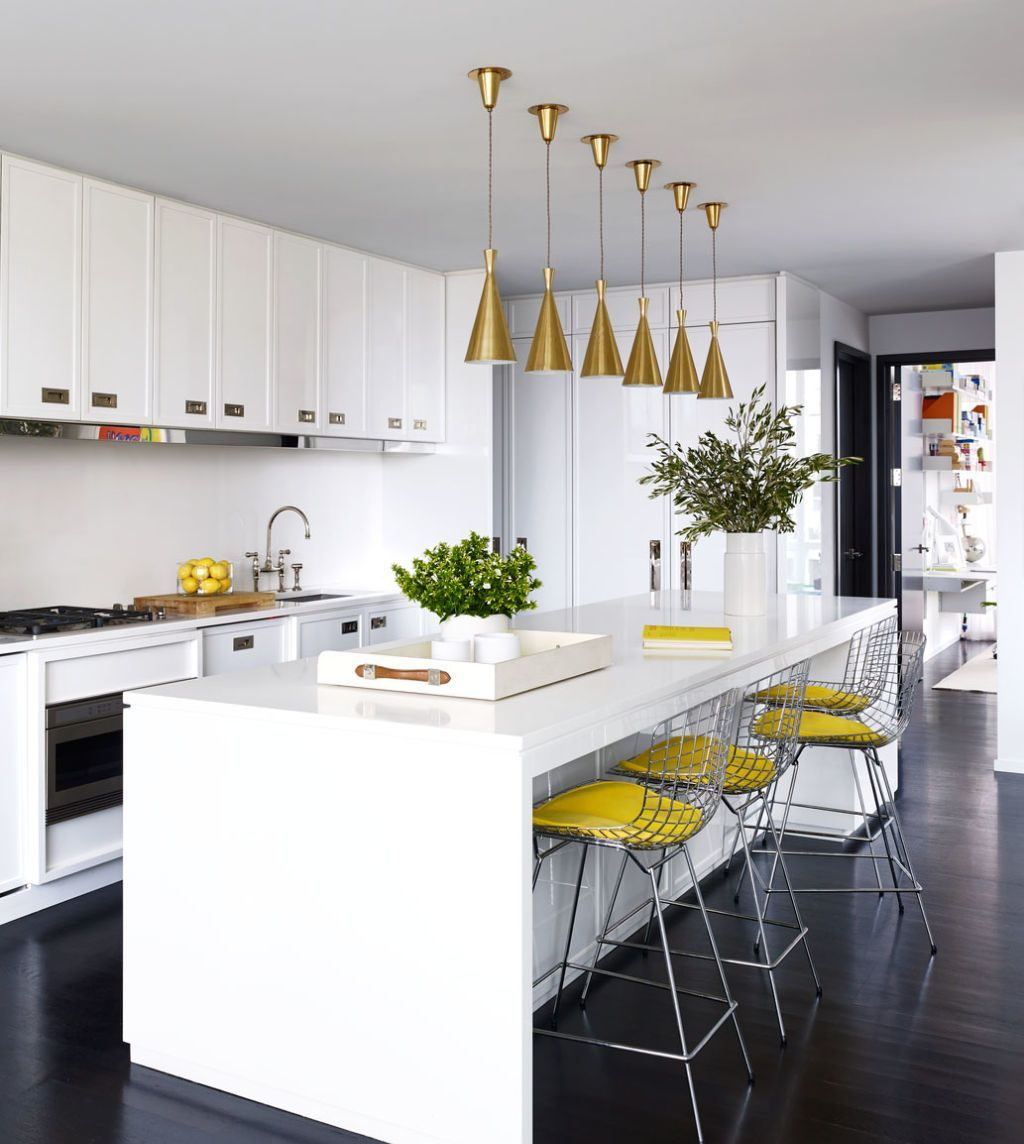 Caesarstone White Island Kitchen Dwellingdecor