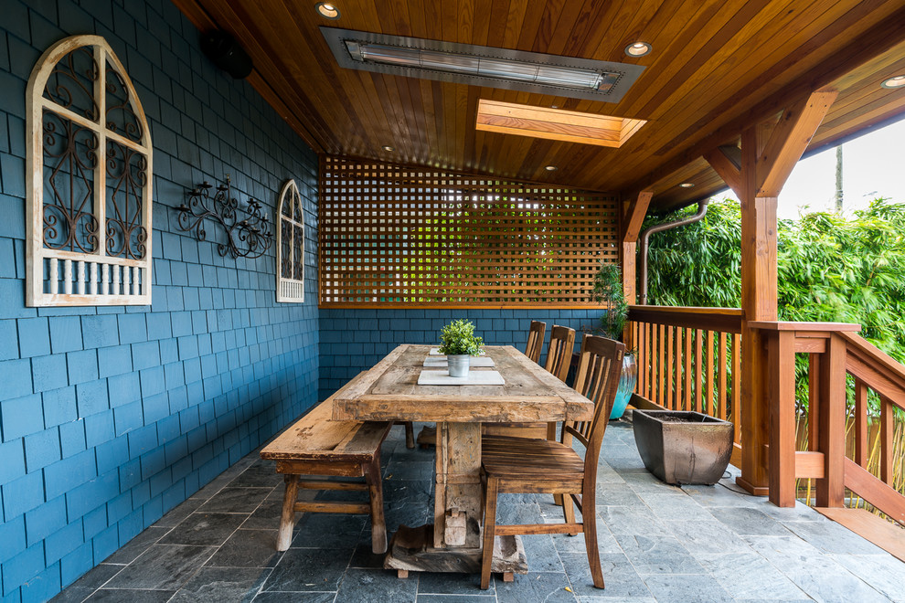 Craftsman Porch With A Roof Extension Dwellingdecor
