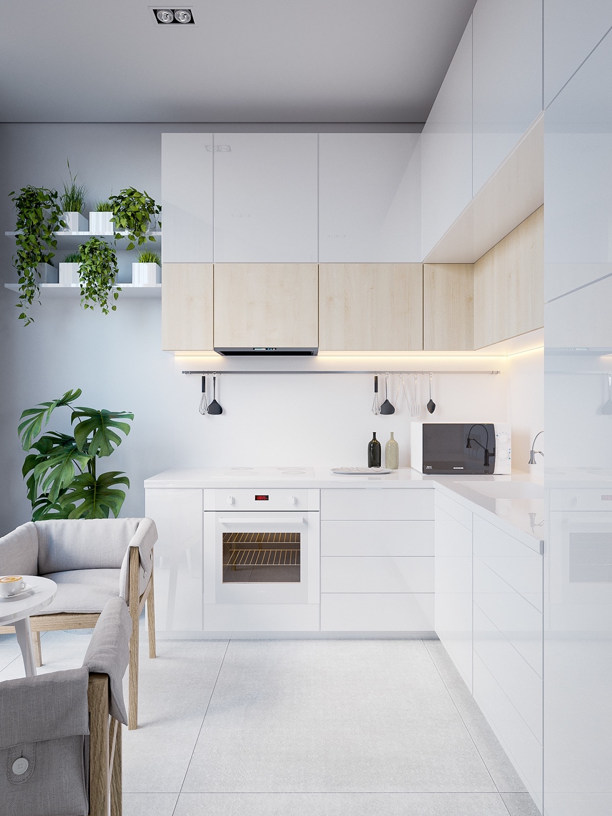 Minimalist Kitchen Design (22)