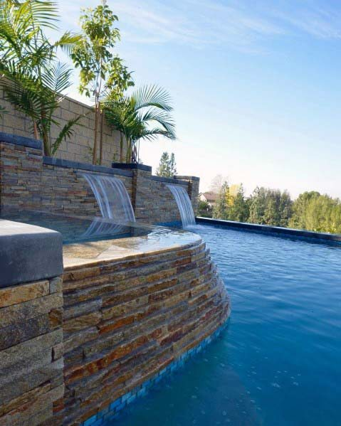 Pool Waterfall Ideas (18)