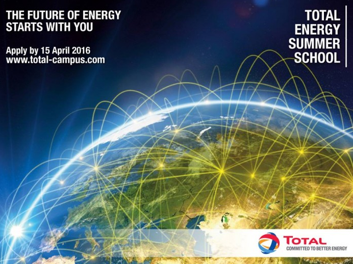 Photo of Total Energy Summer School (TESS) 2016 (10-13 July 2016), Paris France (Fully Funded)