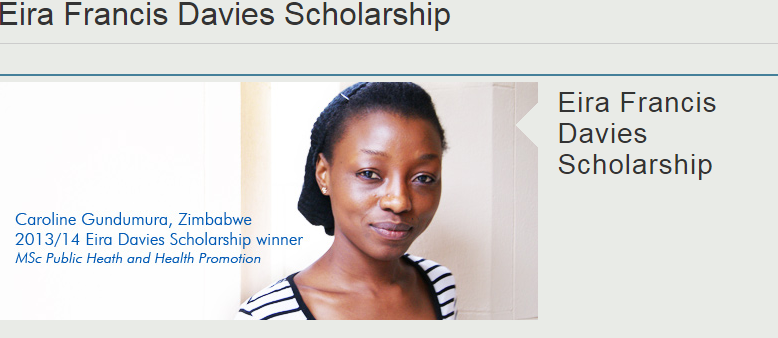 Photo of Eira Francis Davies Scholarship
