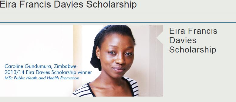 Photo of Eira Francis Davies Scholarship