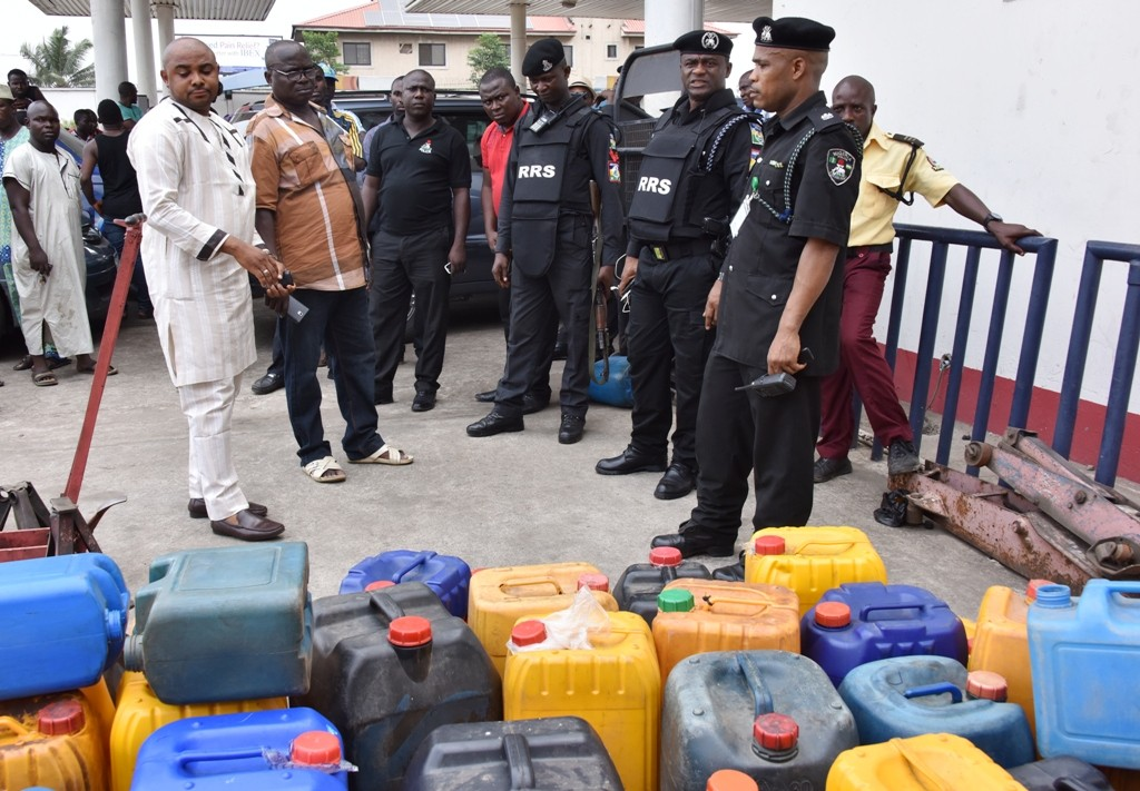 Photo of RRS Arrests Fuel Station Manager and Assistant