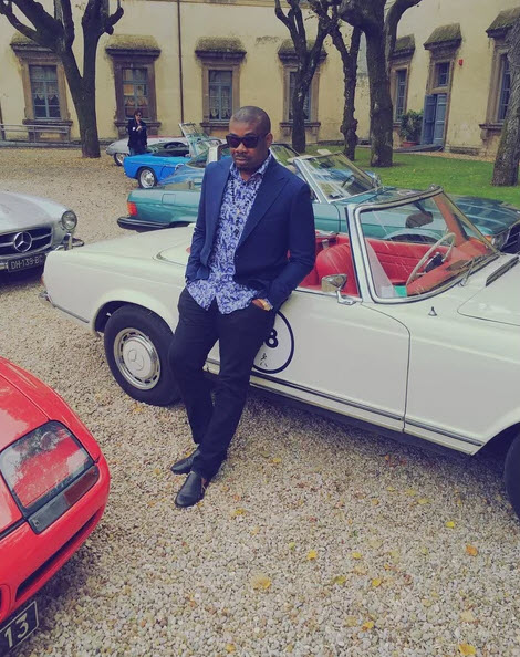 Photo of Don Jazzy And His Car Collection