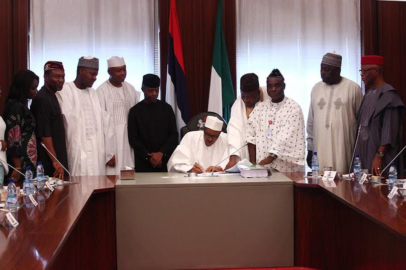 Photo of Budget Finally Signed- Highlights of The Budget of 'Change' as Signed by President Buhari