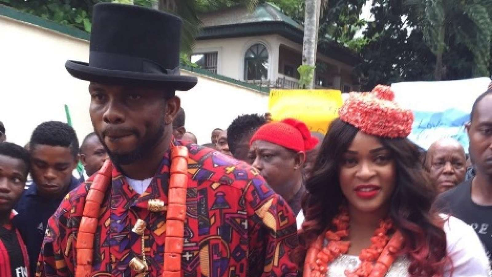 Photo of Yobo and His Wife Conferred with Chieftaincy Titles in Ogoniland
