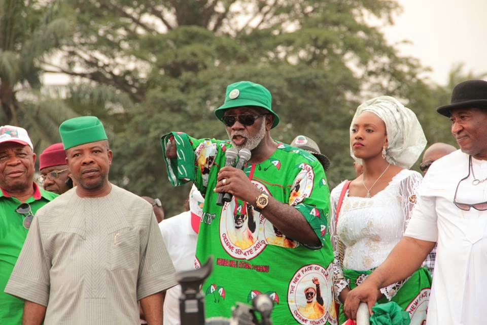 Photo of Nigerian Senator With One Hand Celebrates Birthday