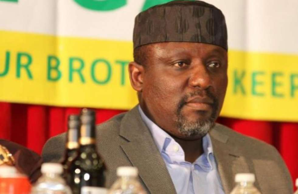 Photo of Governor Okorocha Pictured Cycling On The Street