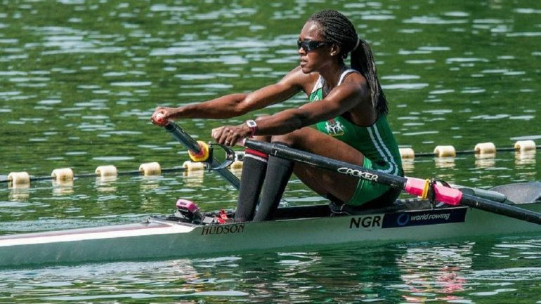 Photo of Nigeria's record breaking boat rower Chierika Ukogu won't be competing for medals at Rio 2016