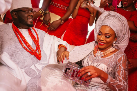 Photo of Dolapo Oni Celebrates Her First Traditional Wedding Anniversary