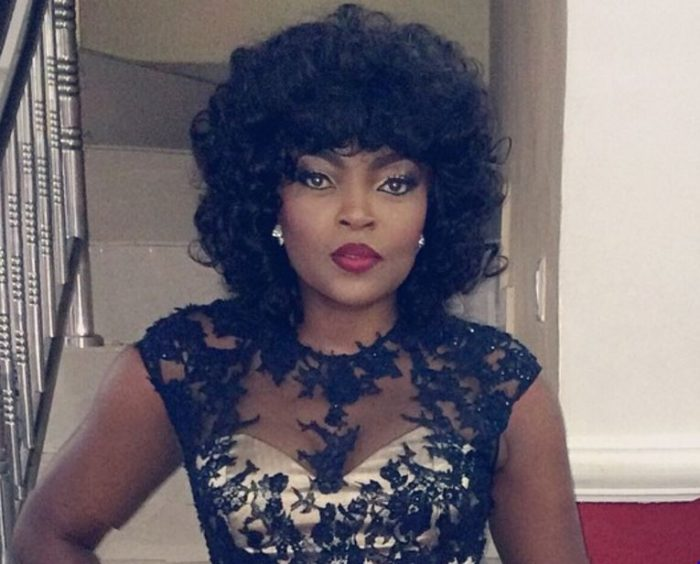 Photo of Funke Akindele Spotted With Wedding Ring on Finger