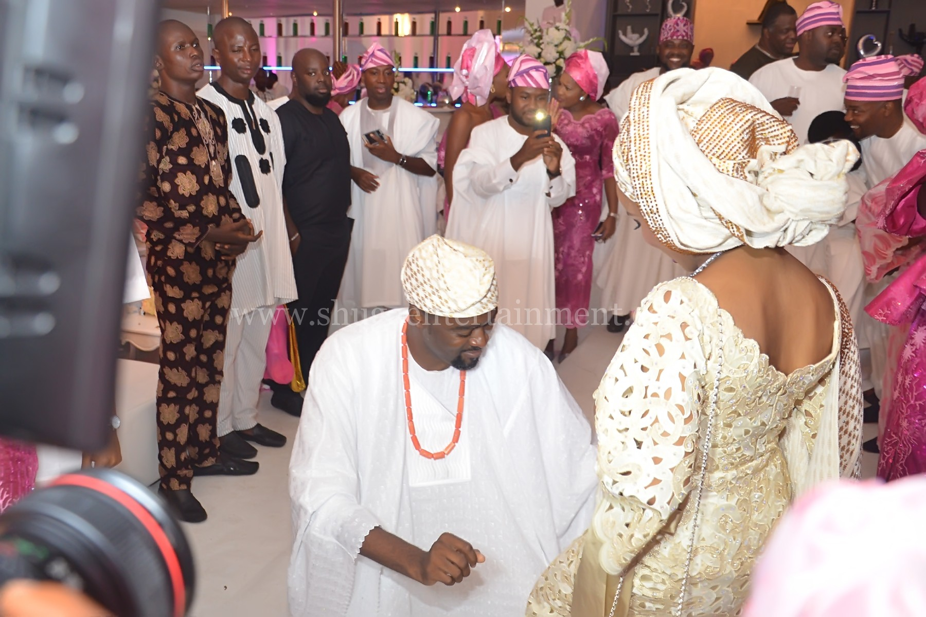 Photo of Daughter of Oyo State Governor, Jibola and Hubby Show Off Their Twins