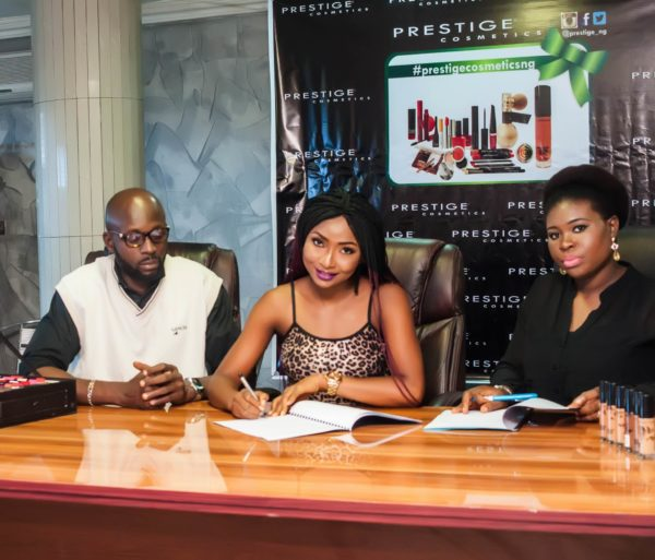 Photo of Actress Belinda Effah Now The New Face of Prestige Cosmetics