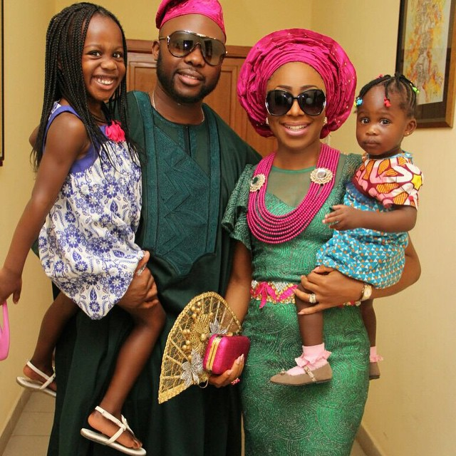 Photo of Dakore Egbuson Shares A Photo to Celebrate Her Daughter's Birthday