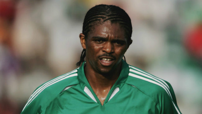 "Photo of Kanu Nwankwo Loses Mum, ""She Was Our Rock…"", He Says."