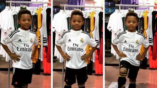Photo of Peter Okoye Celebrates Son's 8th Birthday