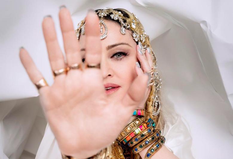 "Photo of Madonna today released ""Dark Ballet"